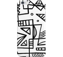 Gamberini Abstract Expression Black and White iPhone Case/Skin