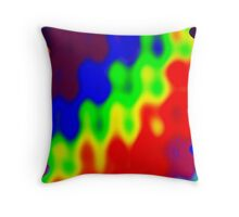 Healing joining of people  Throw Pillow