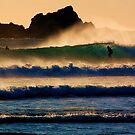 Sunset Wave by Garth Smith