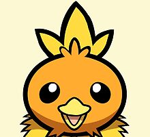 Torchic by Pepooni