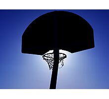 Winter Hoop - Edited Photographic Print