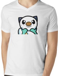 Oshawott Mens V-Neck T-Shirt