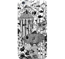 Marine Aussie Tangle - see notes re background colour options.  iPhone Case/Skin
