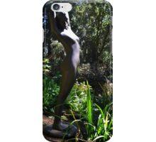 Nature Girl Sculpture. Abbotsbury.Dorset UK iPhone Case/Skin