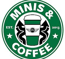 MINIS AND COFFEE by Lizvel
