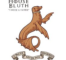 Bluth Family Seal by kirkdstevens