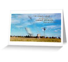 Ghost Land © Vicki Ferrari Greeting Card