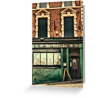 Castle Bar, Derry Greeting Card