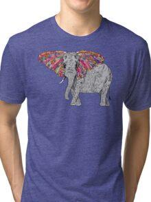 Bella The Happy Butterphant Tri-blend T-Shirt