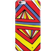 Azatyan Abstract Expression Yellow Red Blue iPhone Case/Skin