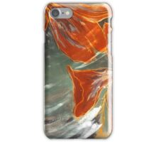 Abstract Cherryblossoms II, Stefania Silk Arts iPhone Case/Skin