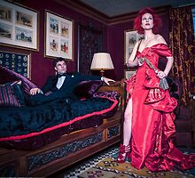 Miss Scarlet and Mr Black by PhotographybyDH