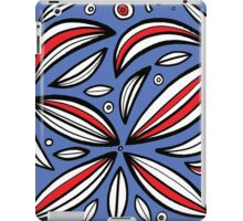 Popec Abstract Expression Red Blue iPad Case/Skin