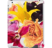 Happiness is another bed of tulips iPad Case/Skin