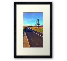 Power to the country | landscape photography Framed Print