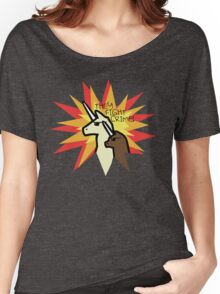 They Fight Crime - Llamacorn and Alpacacorn Women's Relaxed Fit T-Shirt