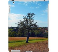 Tree in summer time with clouds | landscape photography iPad Case/Skin