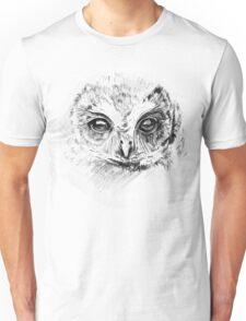 Owl Sketch Unisex T-Shirt