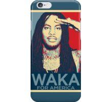 Waka flocka flame for america iPhone Case/Skin