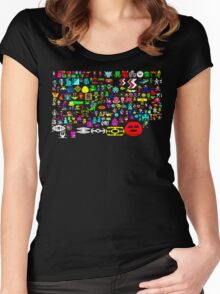 BBC Micro Heroes Women's Fitted Scoop T-Shirt