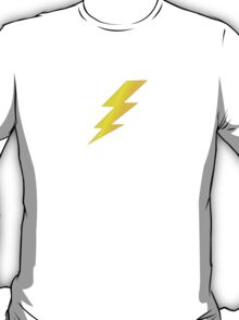 Lightening Bolt Super Character Cartoon T-Shirt Duvet T-Shirt