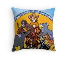 the horrible hunting 3 Throw Pillow