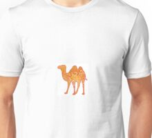 Camel in Warm Colours Unisex T-Shirt