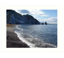 Pilar Rock, Cabot Trail Art Print