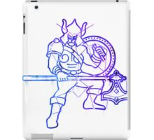 Elder scrolls - Warrior sign iPad Case/Skin