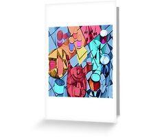 Everybody Stops for Tea Greeting Card