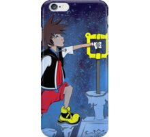 The Keyblade In The Stone iPhone Case/Skin