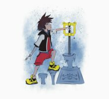 The Keyblade In The Stone One Piece - Long Sleeve