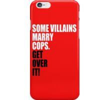 VILLAINS AND COPS iPhone Case/Skin