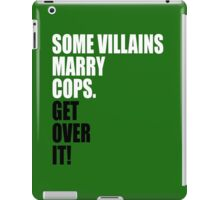 VILLAINS AND COPS iPad Case/Skin
