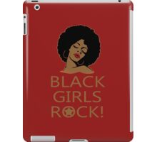 Black Girl Head - Funny Tshirt iPad Case/Skin