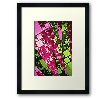Square Watermelon Framed Print