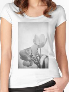 So Hard In Love (mono) Women's Fitted Scoop T-Shirt