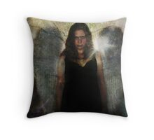 Angel of the Gloaming Throw Pillow