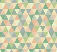 Pistachio triangles by Morag Anderson