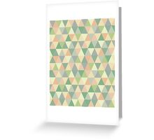 Pistachio triangles Greeting Card