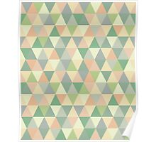 Pistachio triangles Poster