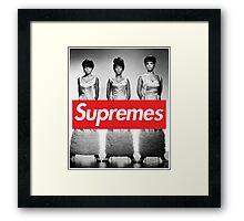 Supreme - The Supremes Framed Print