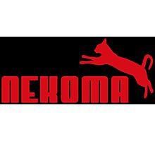 Nekoma - Red  Photographic Print