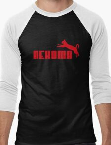 Nekoma - Red  Men's Baseball ¾ T-Shirt