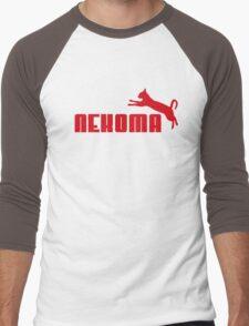 Nekoma - Red  Men's Baseball ¾ T-Shirt