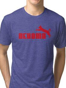 Nekoma - Red  Tri-blend T-Shirt
