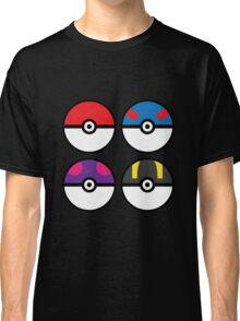 Pokeballs Classic T-Shirt