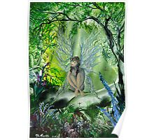 Wood Faerie Poster