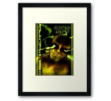ELECTRIC COVER Framed Print