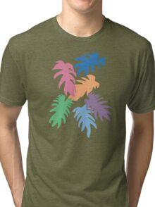 Colourful Matisse Leaves Tri-blend T-Shirt